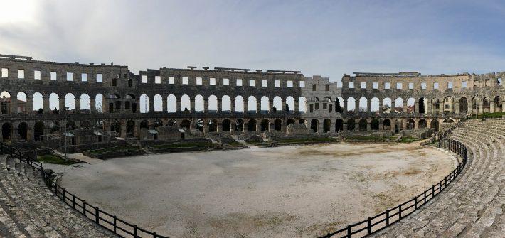 Arena Roman Amphitheater Pula